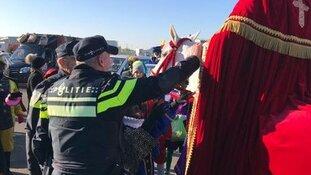 Overzicht inzet politie bij Sinterklaasintochten
