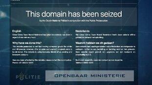 Nepwebsites offline gehaald in onderzoek cybercrime