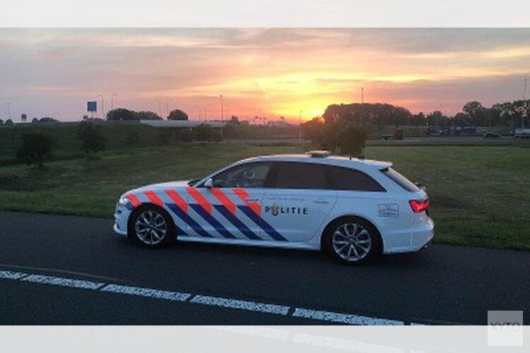 Verwijderbare vreemdelingen aangehouden op A32 bij Leeuwarden