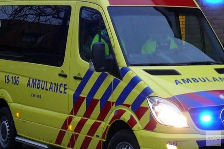 Scooterrijder gewond na botsing met auto