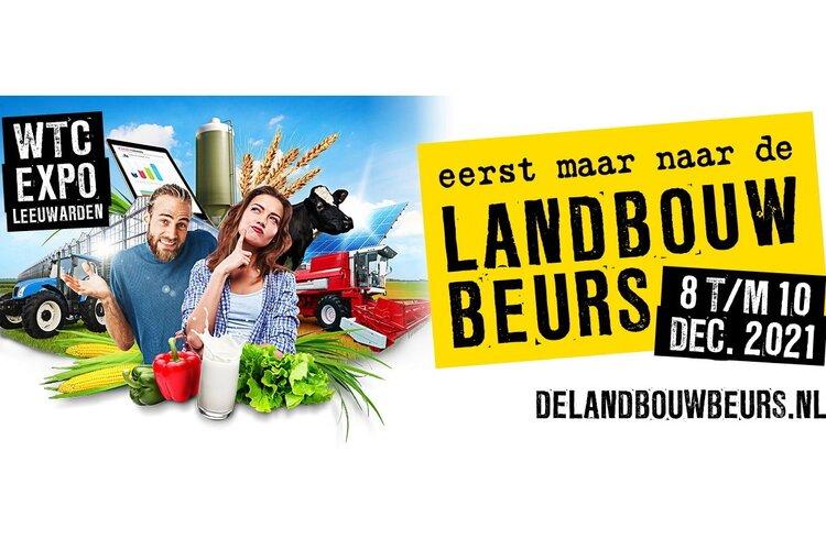 De landbouwbeurs Leeuwarden verplaatst naar December 2021